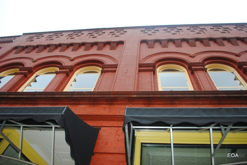 Aaron Beers' Red and Yellow Building