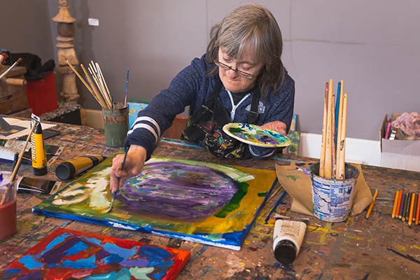 Artist at work - Element of Art Studio